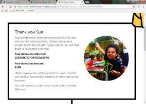 CIN Donation screen print