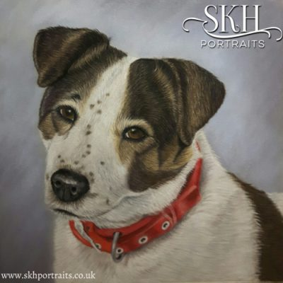 Memorial Dog Portrait
