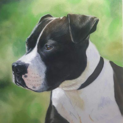Bruce Staffie Pastel Painting