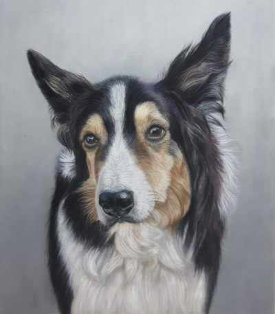 Charley Dog Painting