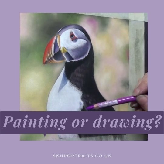 Is Soft Pastel Art a Drawing or a Painting?