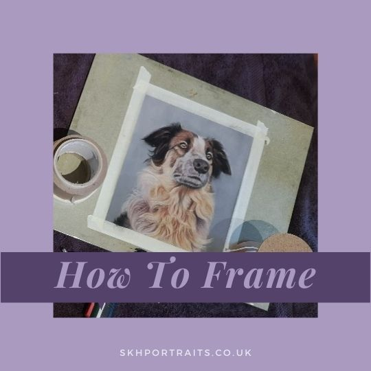 How to Frame a Pastel Portrait