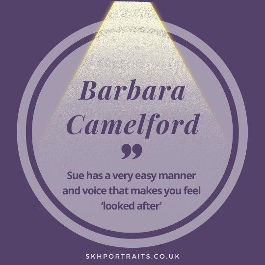 Student Spotlight – Barbara Camelford