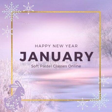 January Soft Pastel classes